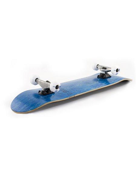 "Enuff Logo Stain 8.00"" Complete Skateboard Blue"