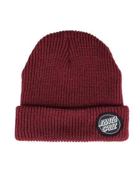 Santa Cruz Outline Dot Gorro de Punto para Hombre Blood