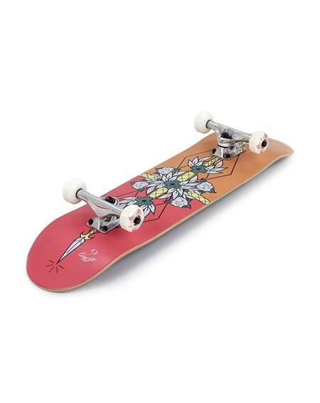 "Enuff Flash 8.00"" Complete Skateboard Red/Orange"