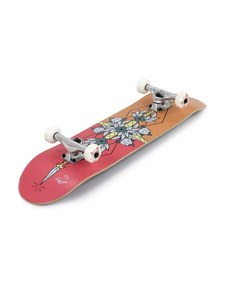 "Enuff Skateboard Complète Flash 8.00"" Red/Orange"