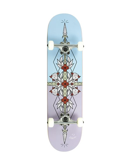 "Enuff Flash 8.00"" Complete Skateboard Purple/Blue"