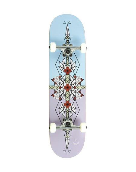 "Enuff Skateboard Complète Flash 8.00"" Purple/Blue"