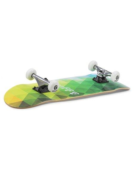 "Enuff Geometric 7.75"" Complete Skateboard Green"