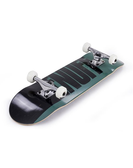 "Enuff Skateboard Half Stain 8.00"" Green"
