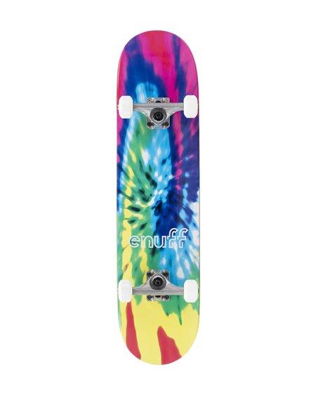 """Enuff Tie-Dye 7.75"""" Complete Skateboard"""
