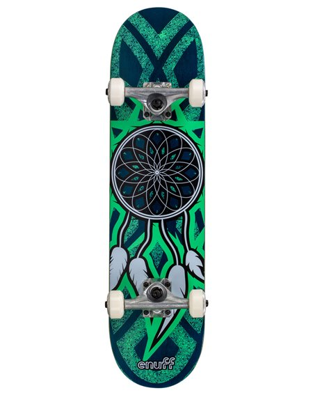 "Enuff Dreamcatcher 7.75"" Complete Skateboard Blue/Teal"