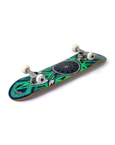 """Enuff Dreamcatcher 7.75"""" Complete Skateboard Blue/Teal"""