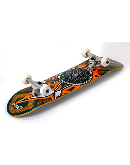 "Enuff Dreamcatcher 7.75"" Complete Skateboard Teal/Orange"