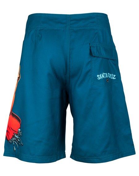 Santa Cruz Fade Hand Boardshort Homme Ink Blue