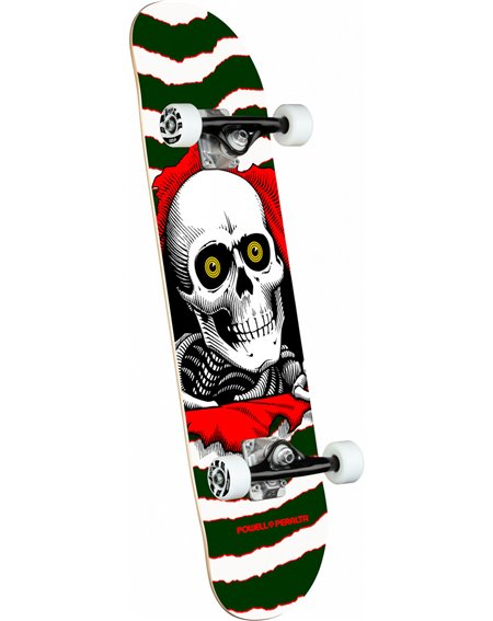 "Powell Peralta Ripper Mini 7.00"" Complete Skateboard Green"