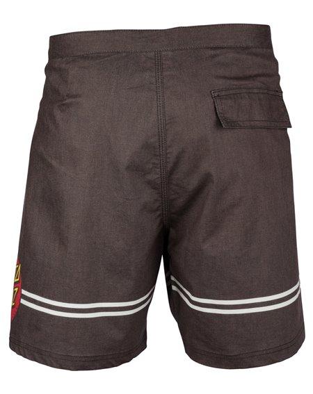 Santa Cruz Herren Boardshorts Classic Dot Washed Black