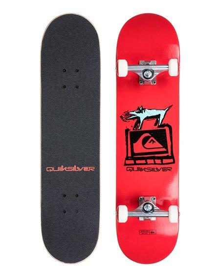"Quiksilver Skateboard Completo Ghetto Dog 8"""
