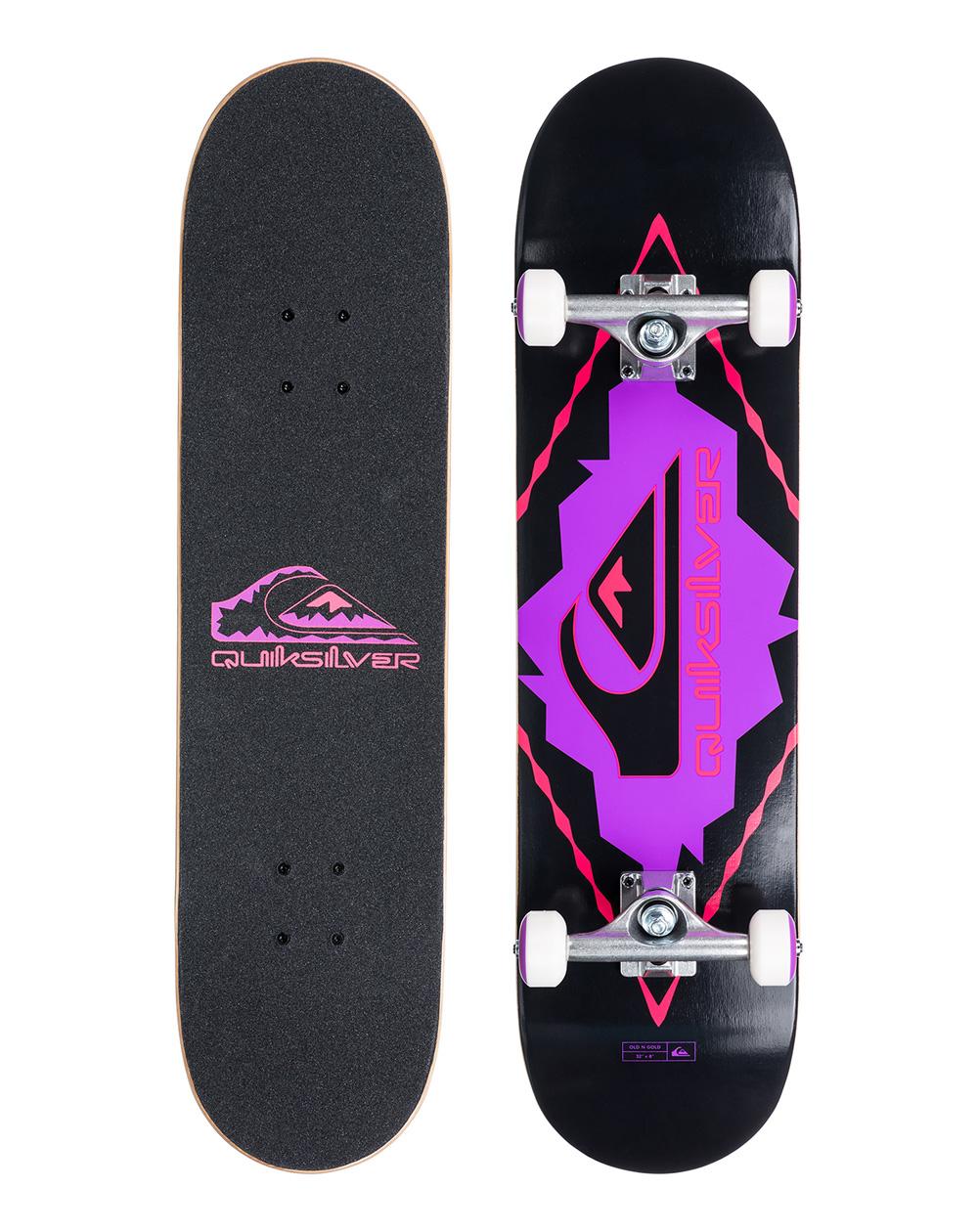 "Quiksilver Skateboard Old N Gold 8.25"""