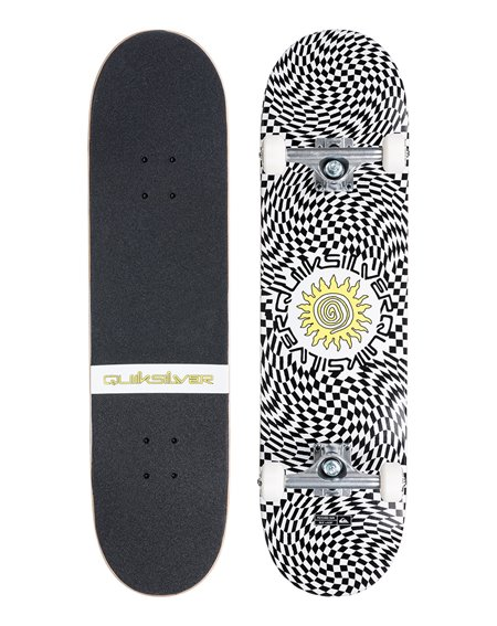 """Quiksilver Psyched Sun 7.8"""" Complete Skateboard"""