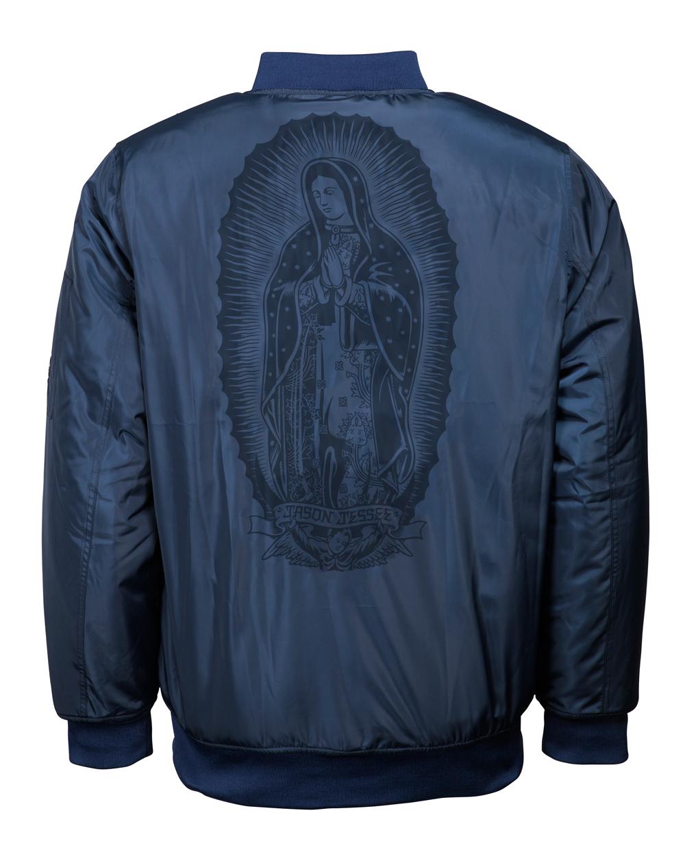 Santa Cruz Men's Bomber Jacket Guadalupe Indigo