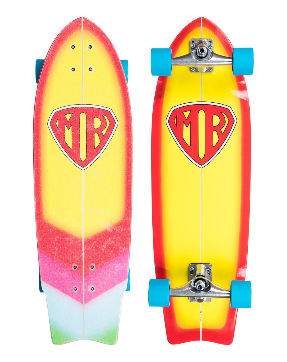 Quiksilver Surfskate Mark Richards Super Yellow