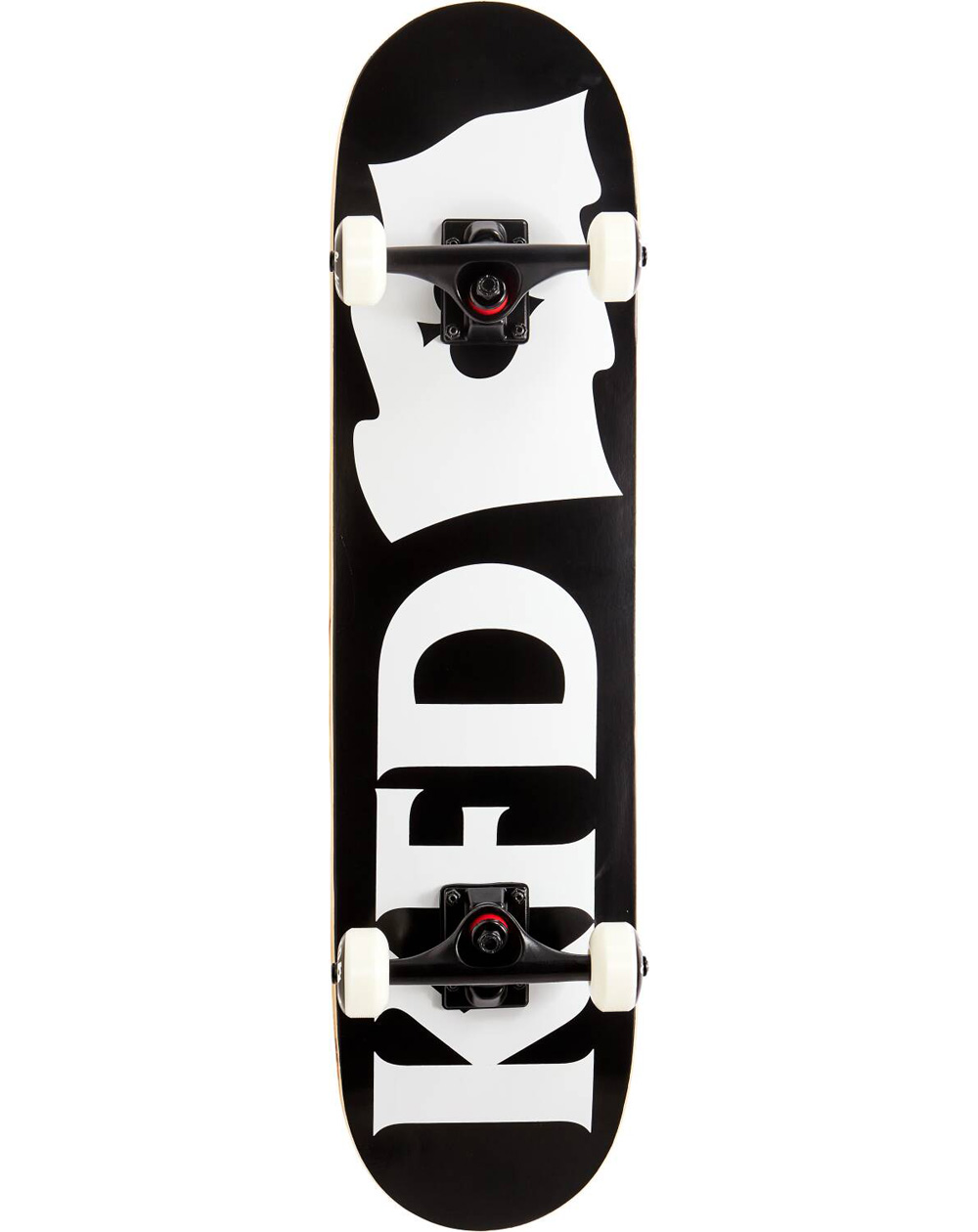"KFD Young Gunz 7.75"" Complete Skateboard Flagship Black"