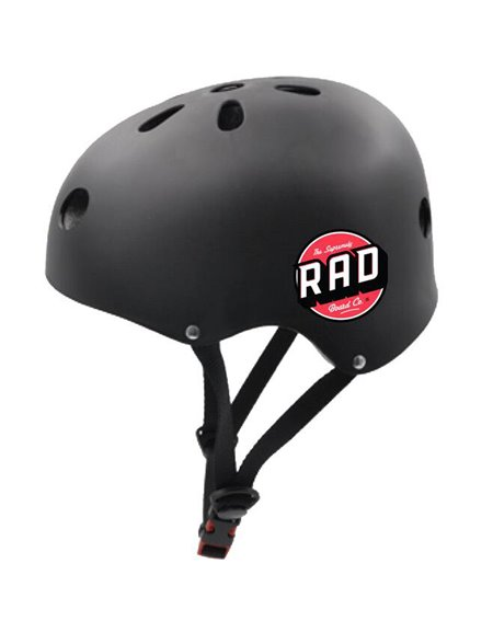 Rad Casco Skateboard Multi Skate Black