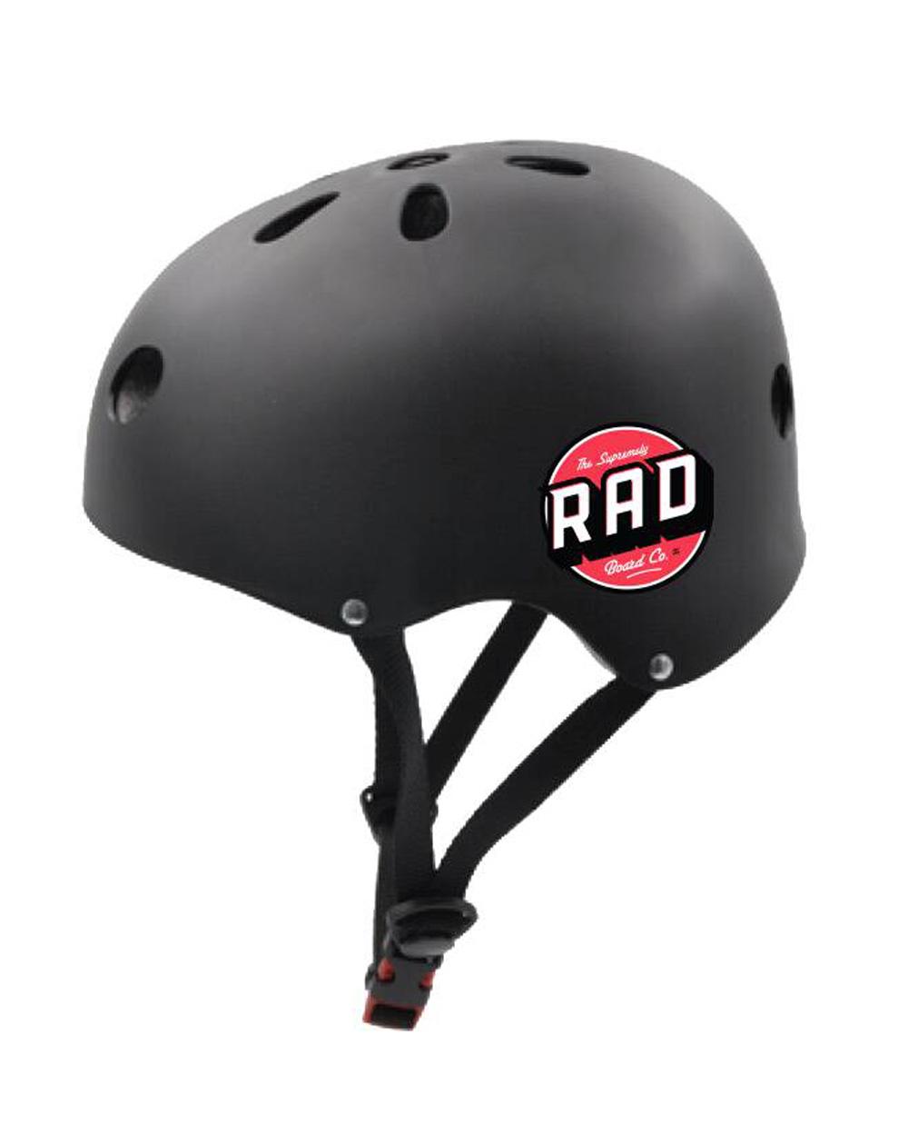 Rad Multi Skate Skateboard Helmet Black