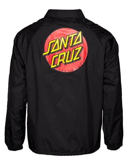 Santa Cruz Herren Jacke Classic Dot Black