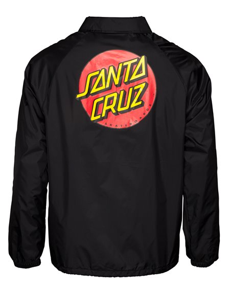 Santa Cruz Men's Jacket Classic Dot Black