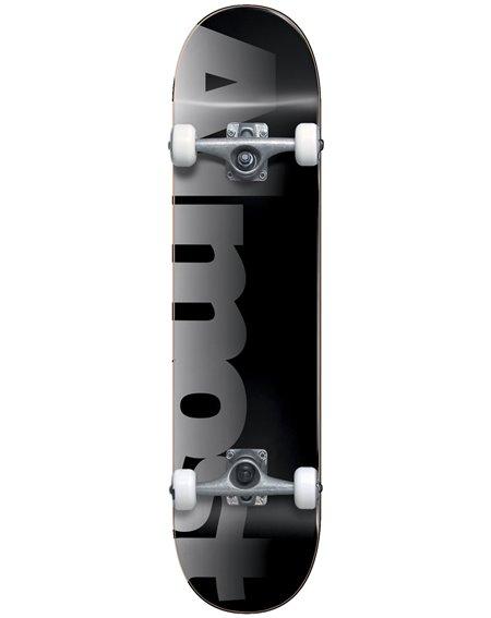 """Almost Blend 8"""" Complete Skateboard Black"""
