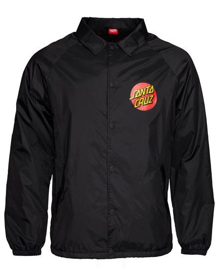 Santa Cruz Men's Jacket Classic Dot Black