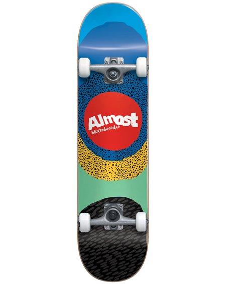 """Almost Radiate 8.25"""" Komplett-Skateboard Blue"""