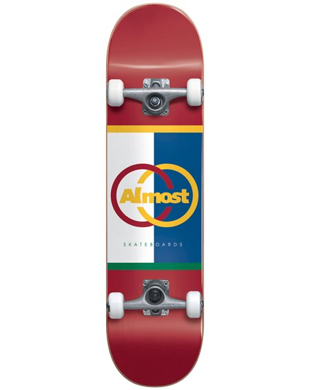 """Almost Skateboard Complète Ivy League 8.125"""" Red"""