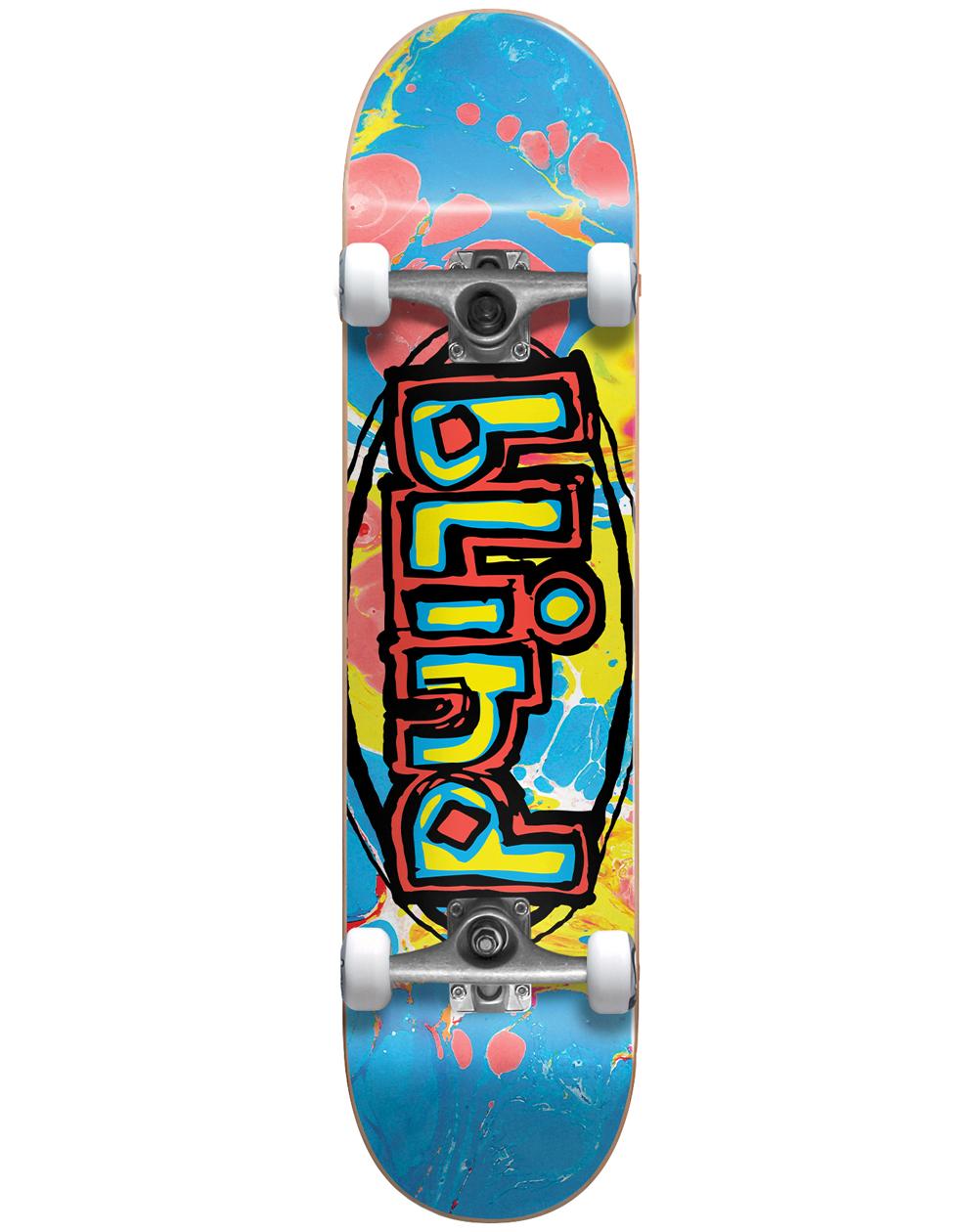 """Blind Skateboard Og Oval 7.625"""""""