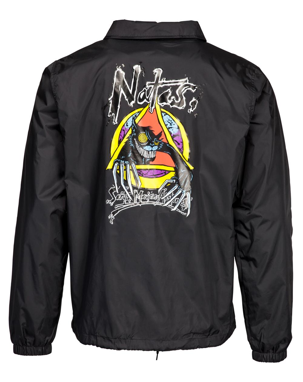 Santa Cruz Men's Jacket OGSC Natas Evil Coach Black