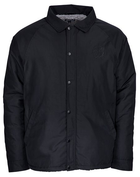 Santa Cruz Men's Jacket Blackout Coach Black