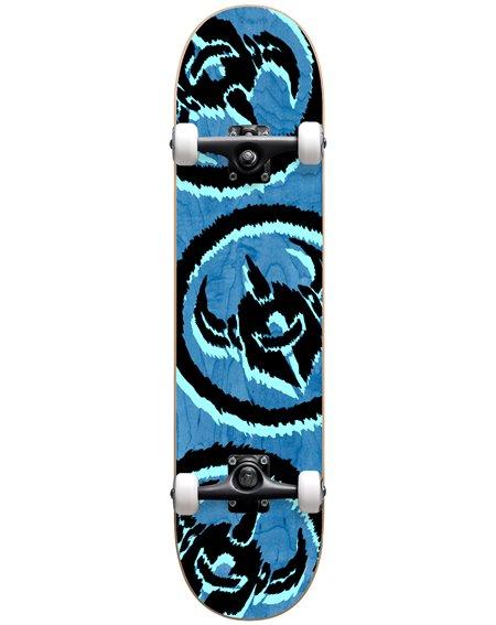 """Darkstar Dissent 7.875"""" Complete Skateboard Blue"""