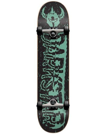 """Darkstar VHS 7.875"""" Complete Skateboard Teal"""