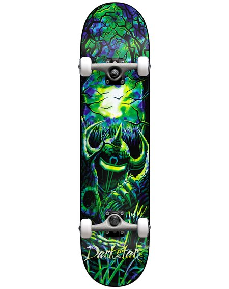 """Darkstar Woods 8.125"""" Komplett-Skateboard Green/Blue"""
