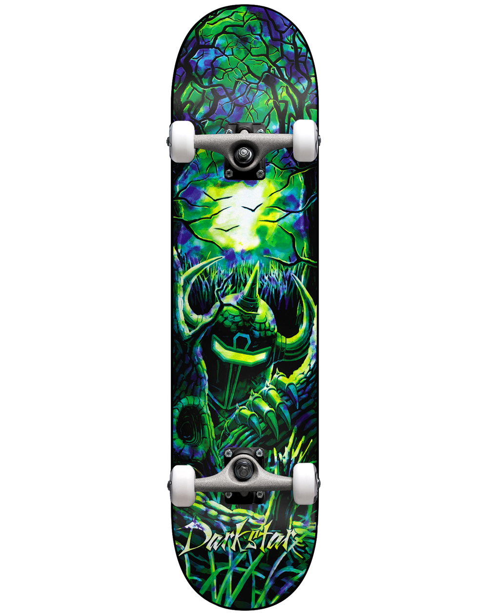 "Darkstar Skateboard Woods 8.125"" Green/Blue"