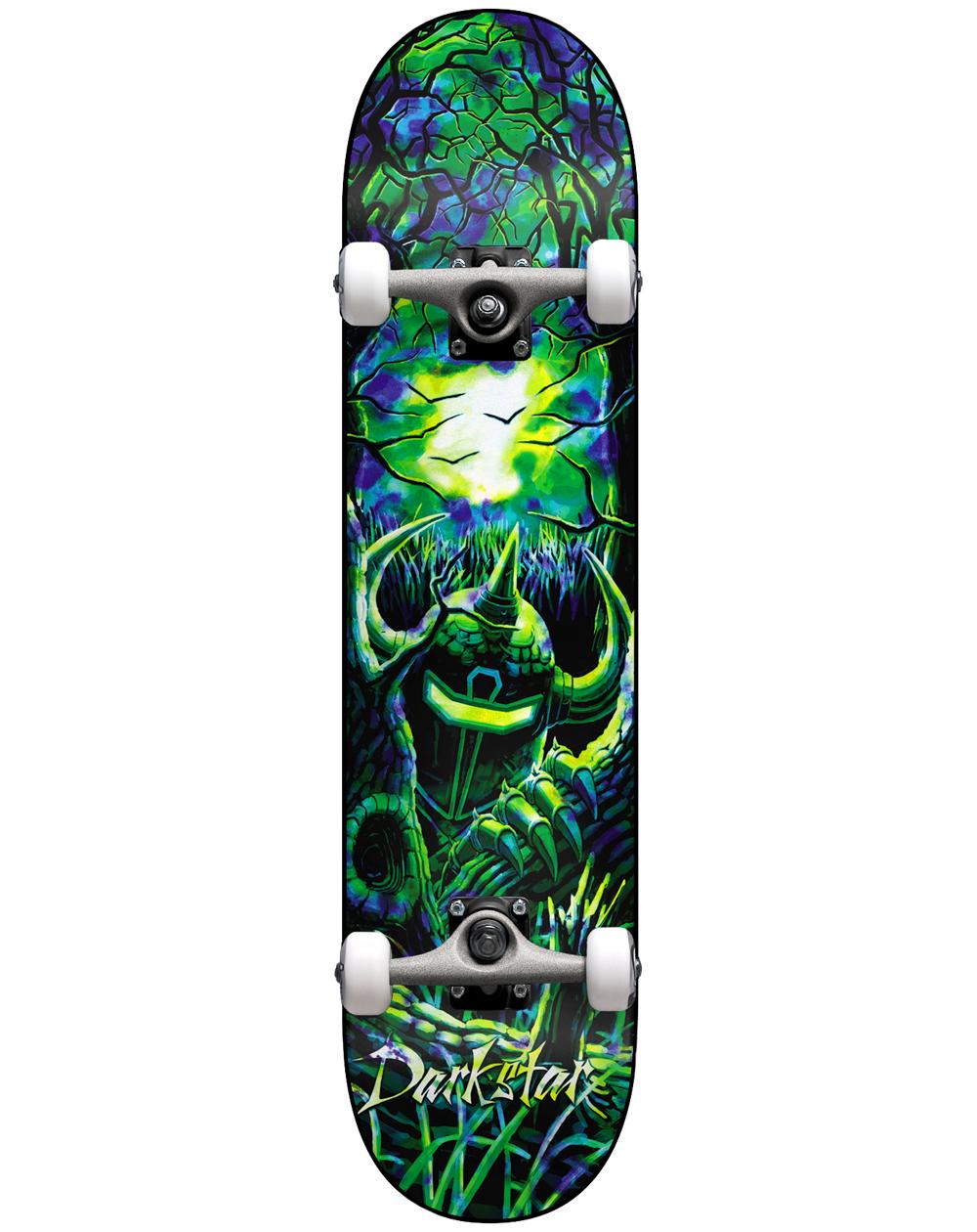 "Darkstar Woods 8.125"" Complete Skateboard Green/Blue"
