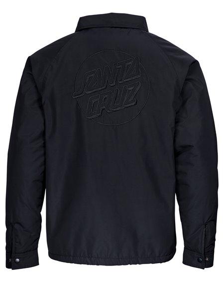 Santa Cruz Men's Jacket Blackout Coach Black