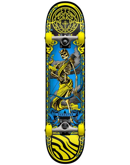 "Darkstar Arrow 7.5"" Complete Skateboard Yellow"