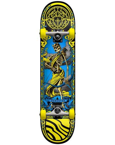"Darkstar Skateboard Complète Arrow 7.5"" Yellow"