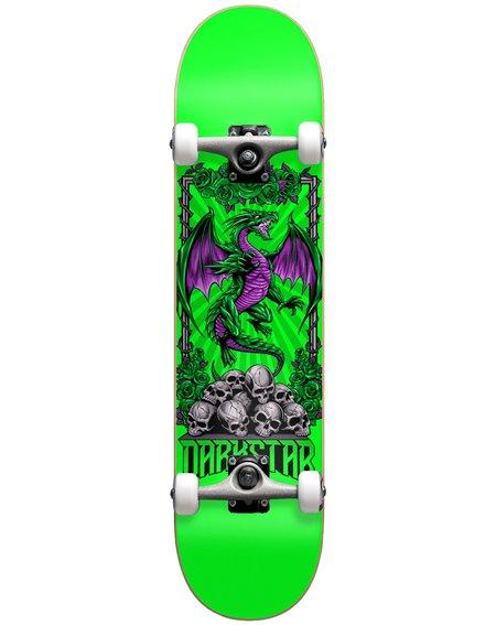 "Darkstar Skateboard Completo Levitate 8"" Green"