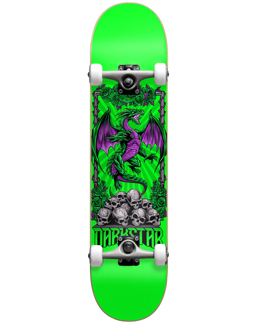 """Darkstar Levitate 8"""" Complete Skateboard Green"""