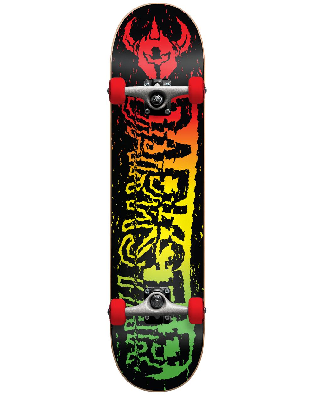 """Darkstar Skate Montado VHS 7.5"""" Rasta"""