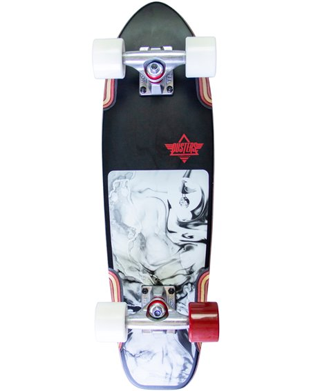 Dusters Skateboard Cruiser Bird Lava 25""