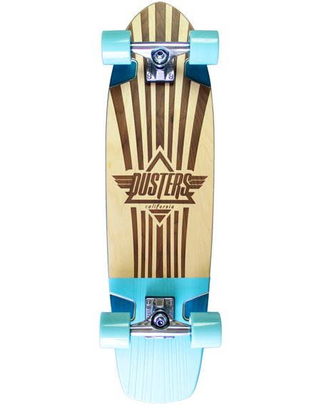 "Dusters Keen Retro Frame 31"" Skateboard Cruiser"