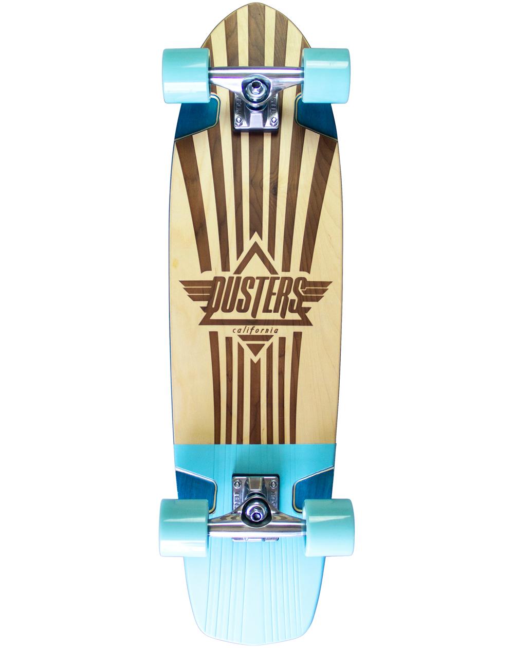 """Dusters Keen Retro Frame 31"""" Skateboard Cruiser"""