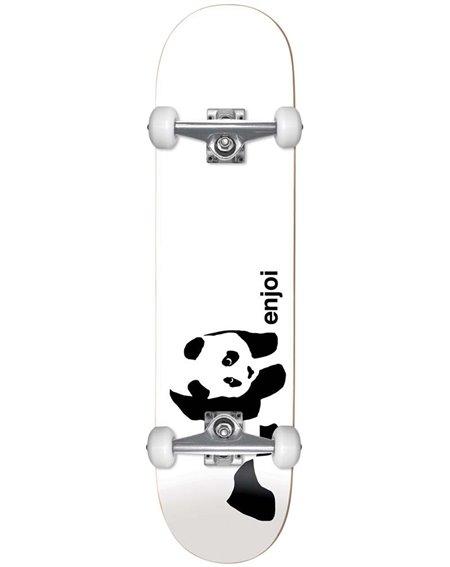 "Enjoi Whitey Panda 7.75"" Komplett-Skateboard White"
