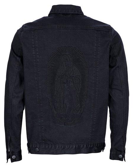 Santa Cruz Guadalupe Giacchetto Uomo Vintage Black