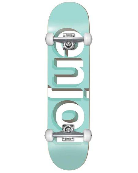 "Enjoi Helvetica Neue 8"" Komplett-Skateboard Aqua"