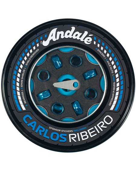Andalé Rodamientos Skateboard Carlos Ribeiro Pro